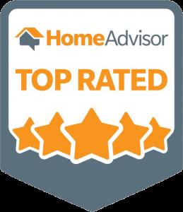 HomeAdvisor roofing badge